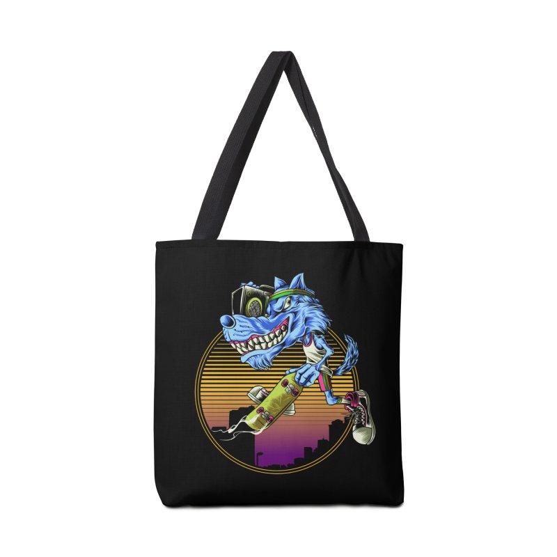 Air Wolf Accessories Bag by monochromefrog