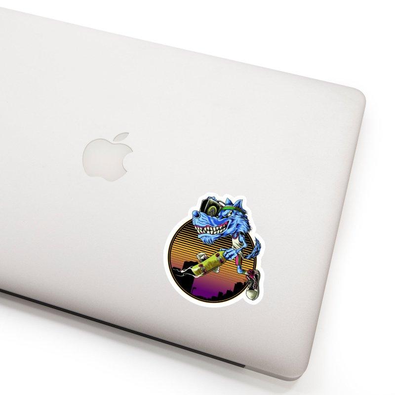 Air Wolf Accessories Sticker by monochromefrog