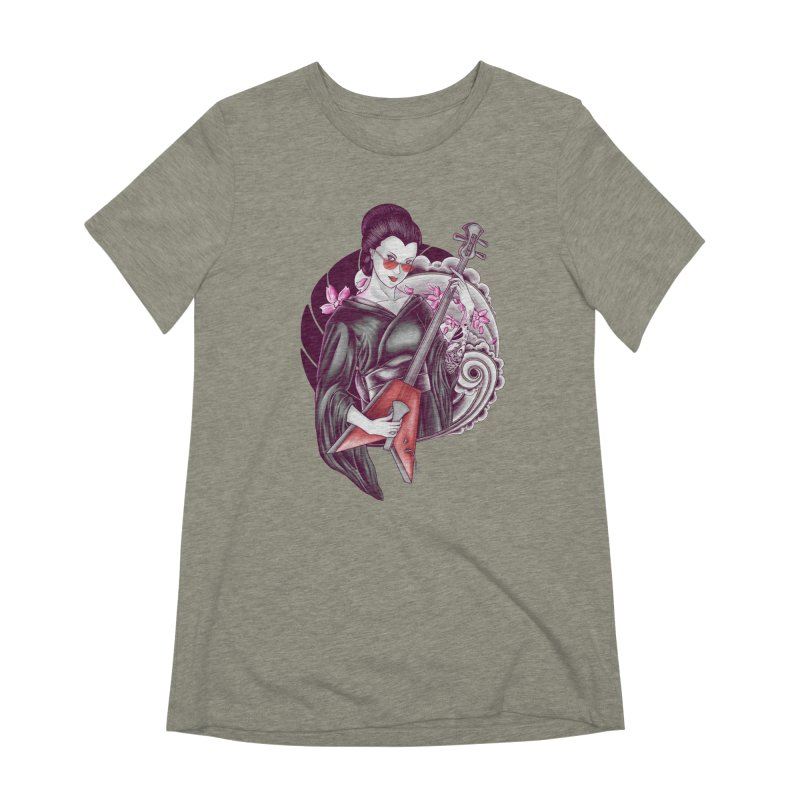 Let's Rock! Women's Extra Soft T-Shirt by monochromefrog