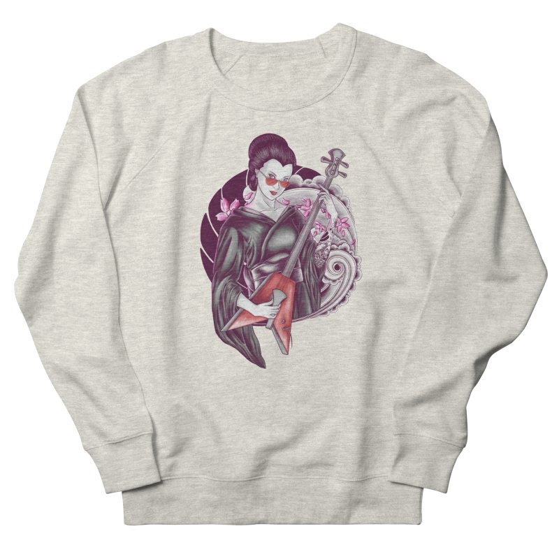 Let's Rock! Women's Sweatshirt by monochromefrog