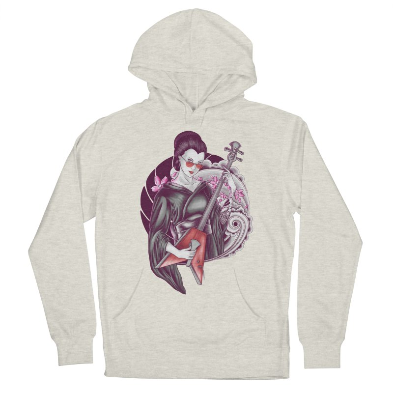 Let's Rock! Women's French Terry Pullover Hoody by monochromefrog