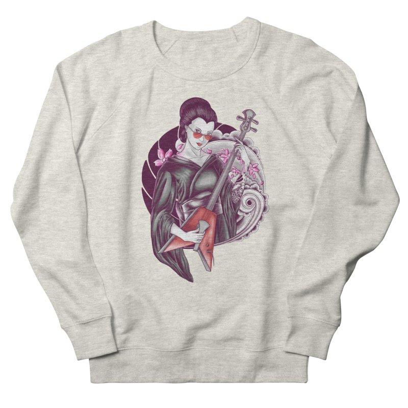Let's Rock! Women's French Terry Sweatshirt by monochromefrog