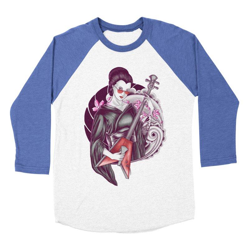 Let's Rock! Women's Baseball Triblend Longsleeve T-Shirt by monochromefrog