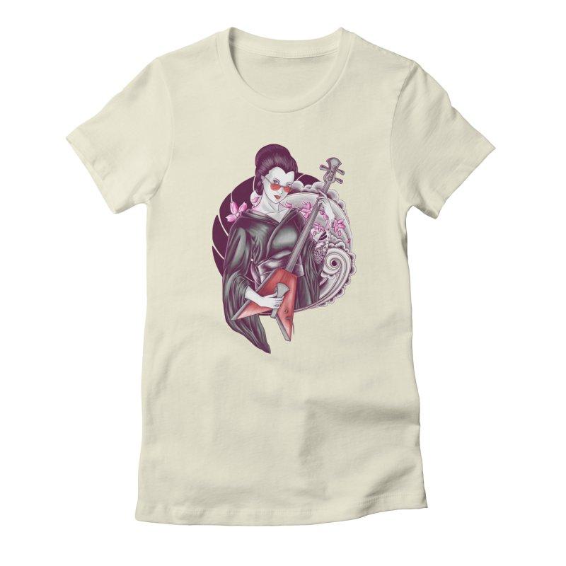 Let's Rock! Women's T-Shirt by monochromefrog