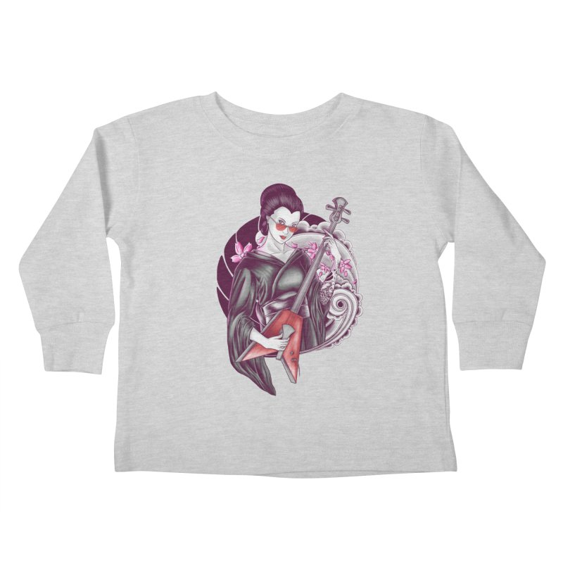 Let's Rock! Kids Toddler Longsleeve T-Shirt by monochromefrog
