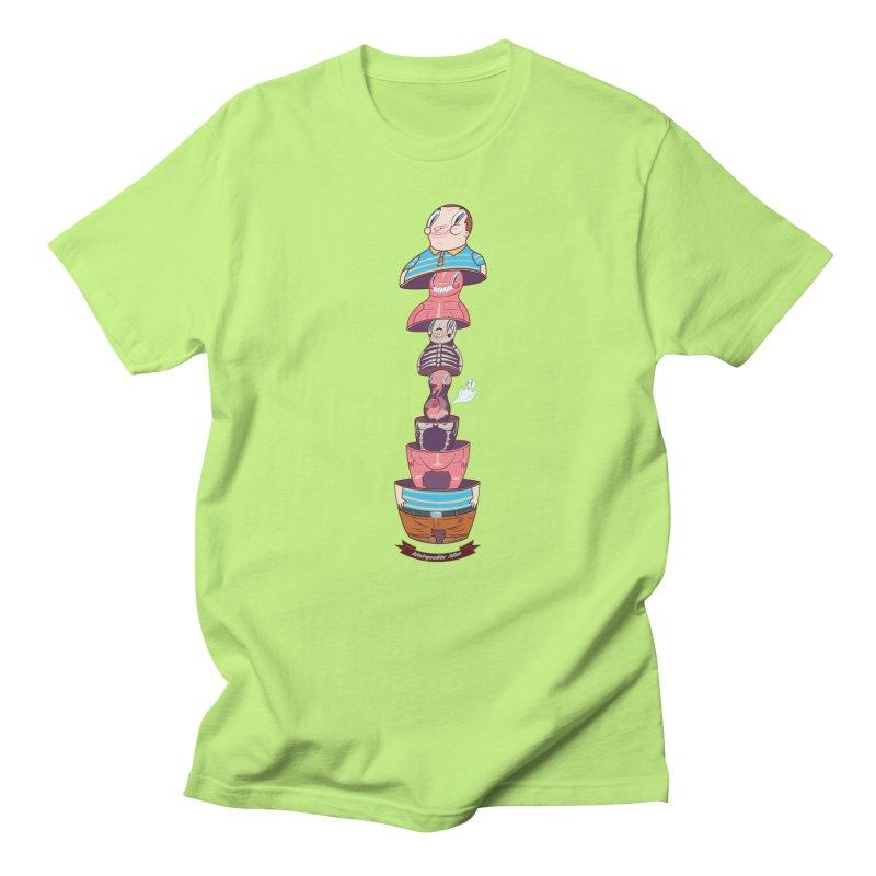 Matryoshka man Men's Regular T-Shirt by monoestudio's Artist Shop