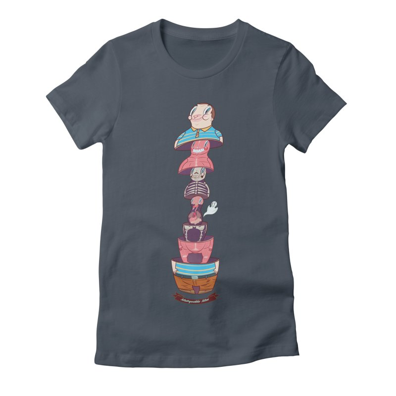 Matryoshka man Women's T-Shirt by monoestudio's Artist Shop