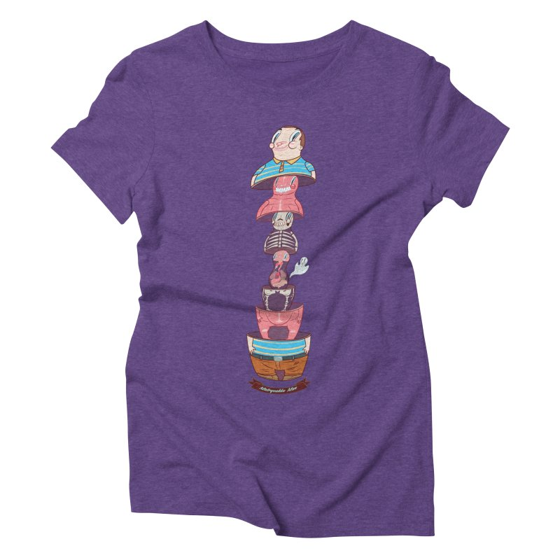 Matryoshka man Women's Triblend T-Shirt by monoestudio's Artist Shop
