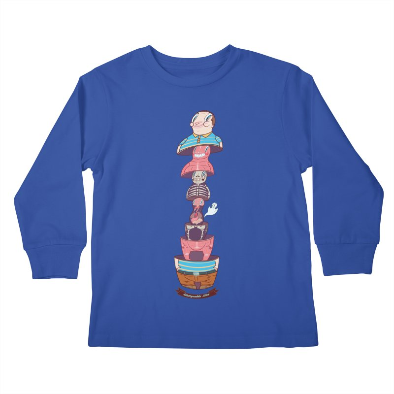 Matryoshka man Kids Longsleeve T-Shirt by monoestudio's Artist Shop
