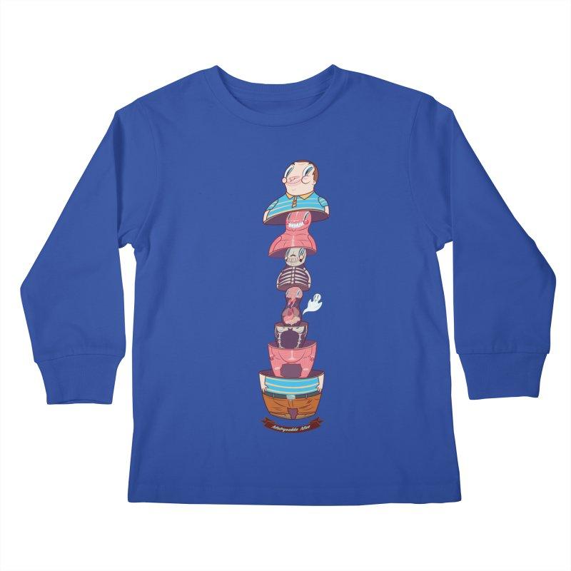 Matryoshka man Kids Longsleeve T-Shirt by monoestudio's Artist Shop