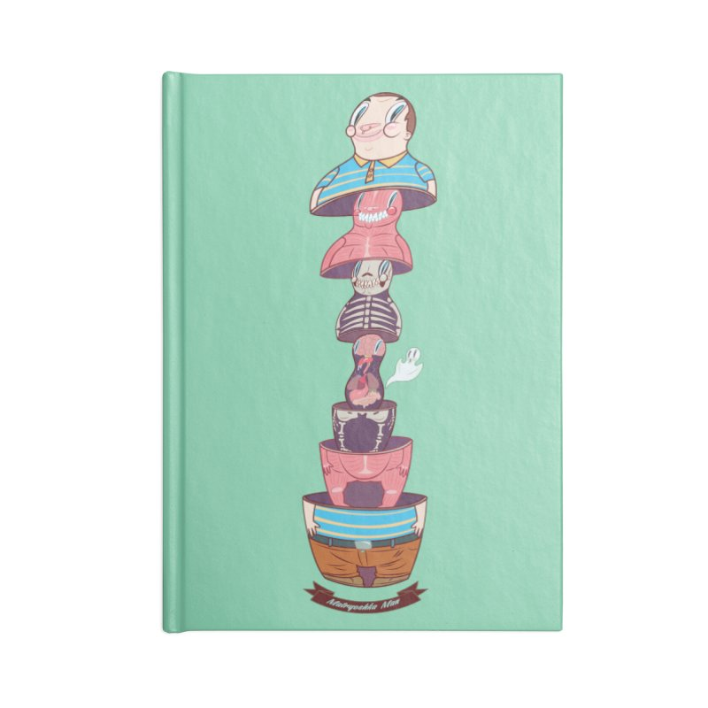 Matryoshka man Accessories Blank Journal Notebook by monoestudio's Artist Shop