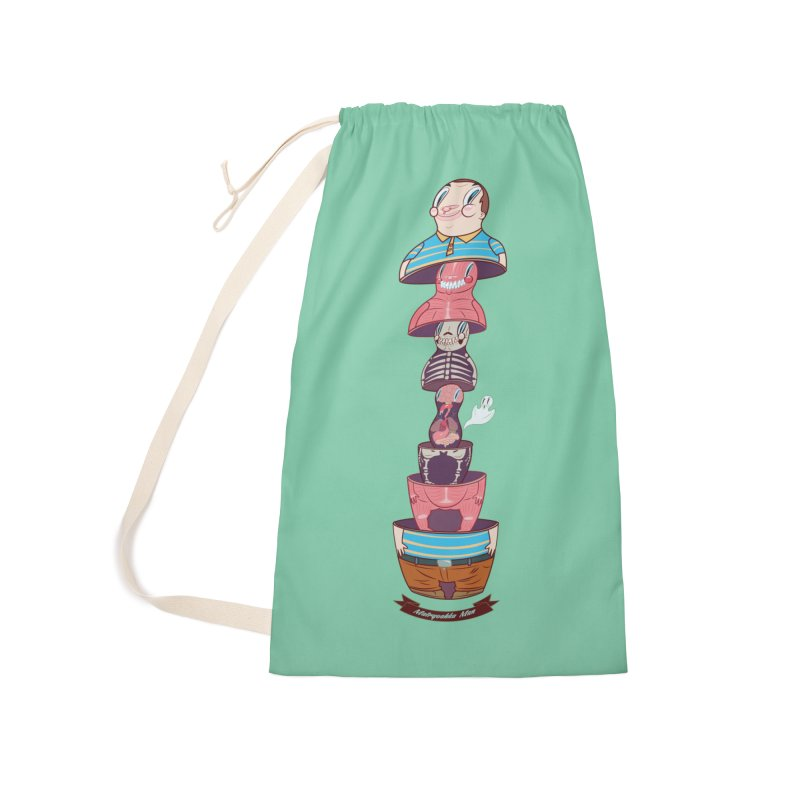 Matryoshka man Accessories Laundry Bag Bag by monoestudio's Artist Shop