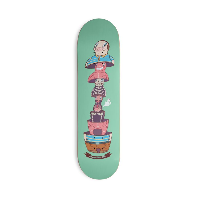 Matryoshka man Accessories Deck Only Skateboard by monoestudio's Artist Shop