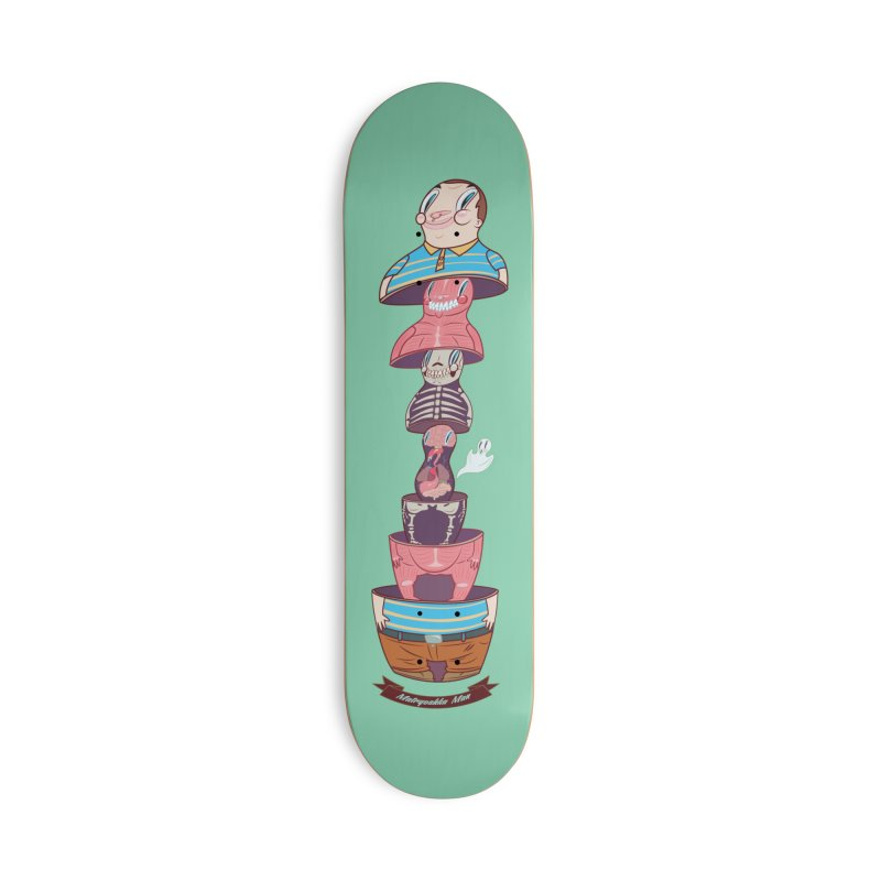Matryoshka man Accessories Skateboard by monoestudio's Artist Shop