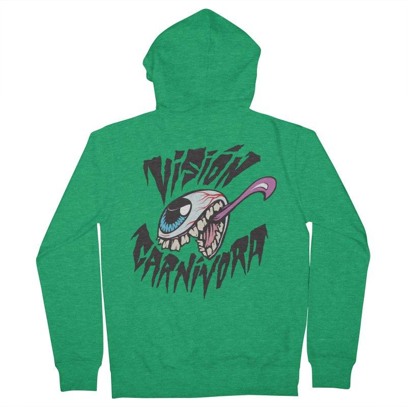 VC logo Men's Zip-Up Hoody by monoestudio's Artist Shop
