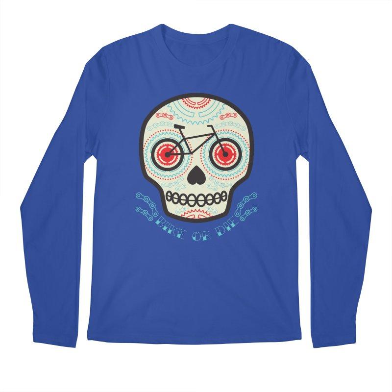 Calaca Men's Longsleeve T-Shirt by monoestudio's Artist Shop