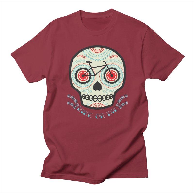 Calaca Men's Regular T-Shirt by monoestudio's Artist Shop