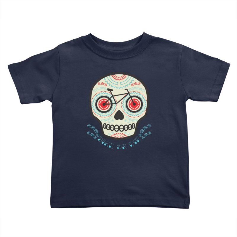 Calaca Kids Toddler T-Shirt by monoestudio's Artist Shop