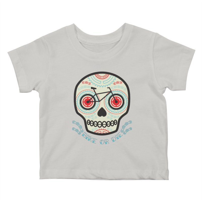 Calaca Kids Baby T-Shirt by monoestudio's Artist Shop