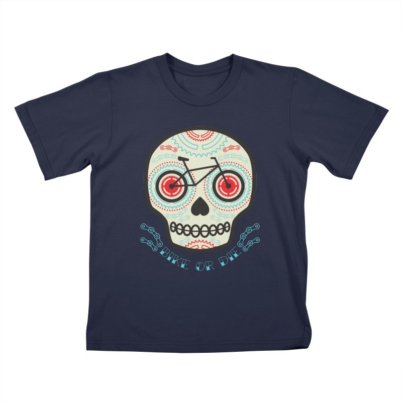Calaca Kids T-Shirt by monoestudio's Artist Shop