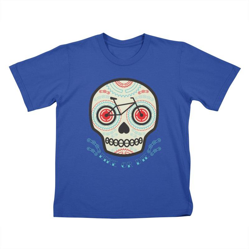 Calaca Kids T-Shirt by monoestudio's Artist Shop