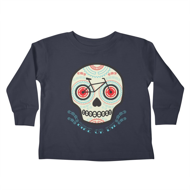 Calaca Kids Toddler Longsleeve T-Shirt by monoestudio's Artist Shop