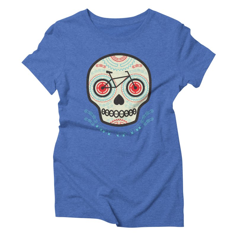 Calaca Women's Triblend T-shirt by monoestudio's Artist Shop