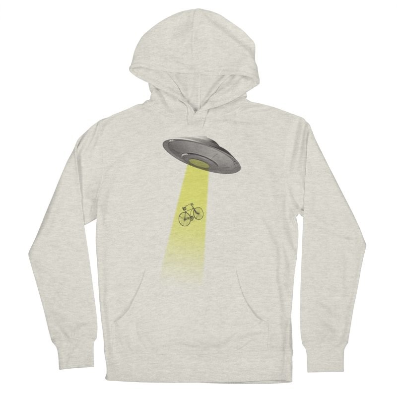 Ufo Men's French Terry Pullover Hoody by monoestudio's Artist Shop