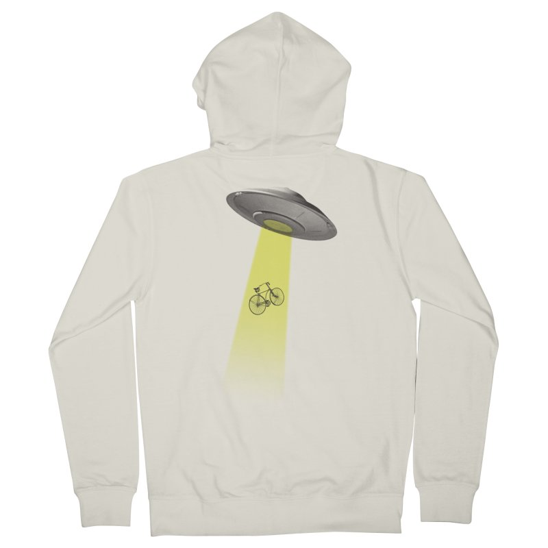 Ufo Men's Zip-Up Hoody by monoestudio's Artist Shop
