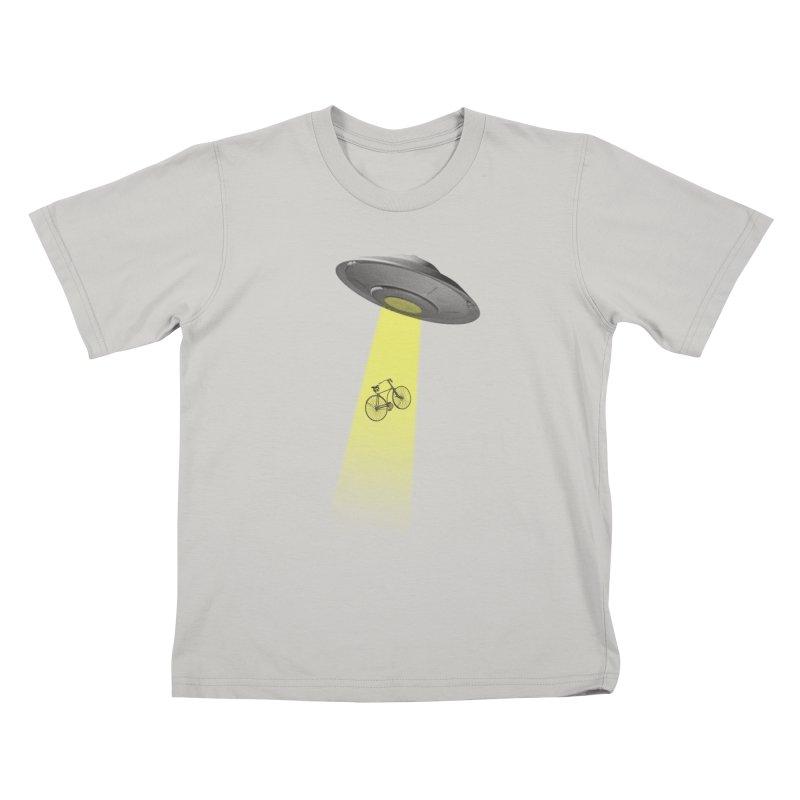Ufo Kids T-shirt by monoestudio's Artist Shop