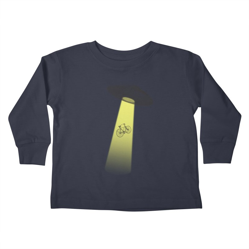 Ufo Kids Toddler Longsleeve T-Shirt by monoestudio's Artist Shop