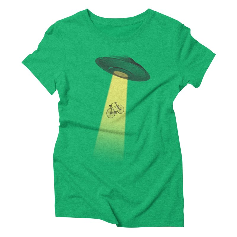 Ufo Women's Triblend T-shirt by monoestudio's Artist Shop