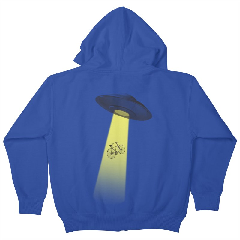 Ufo Kids Zip-Up Hoody by monoestudio's Artist Shop