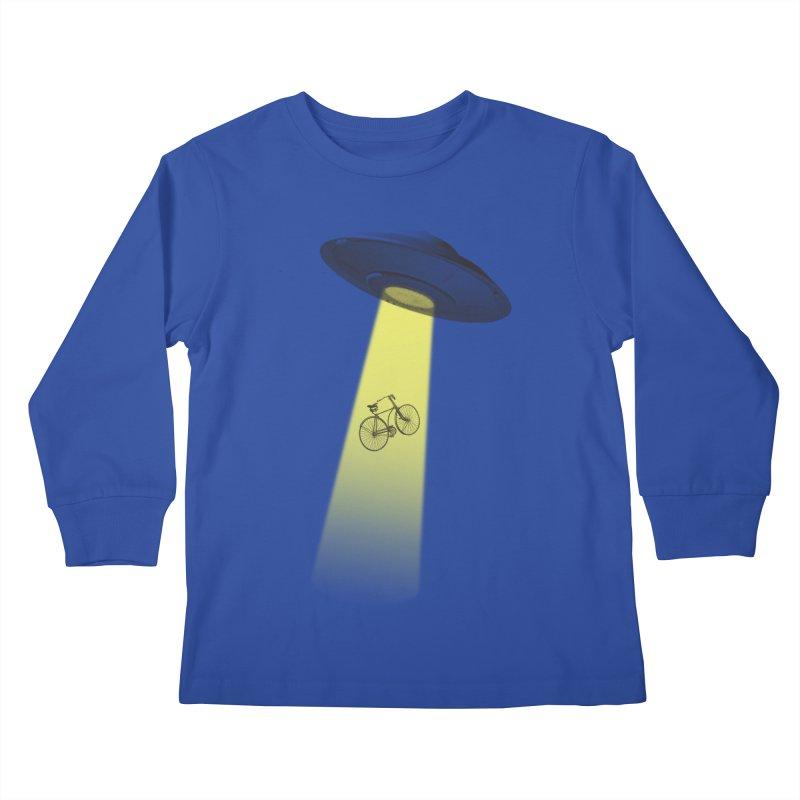 Ufo Kids Longsleeve T-Shirt by monoestudio's Artist Shop