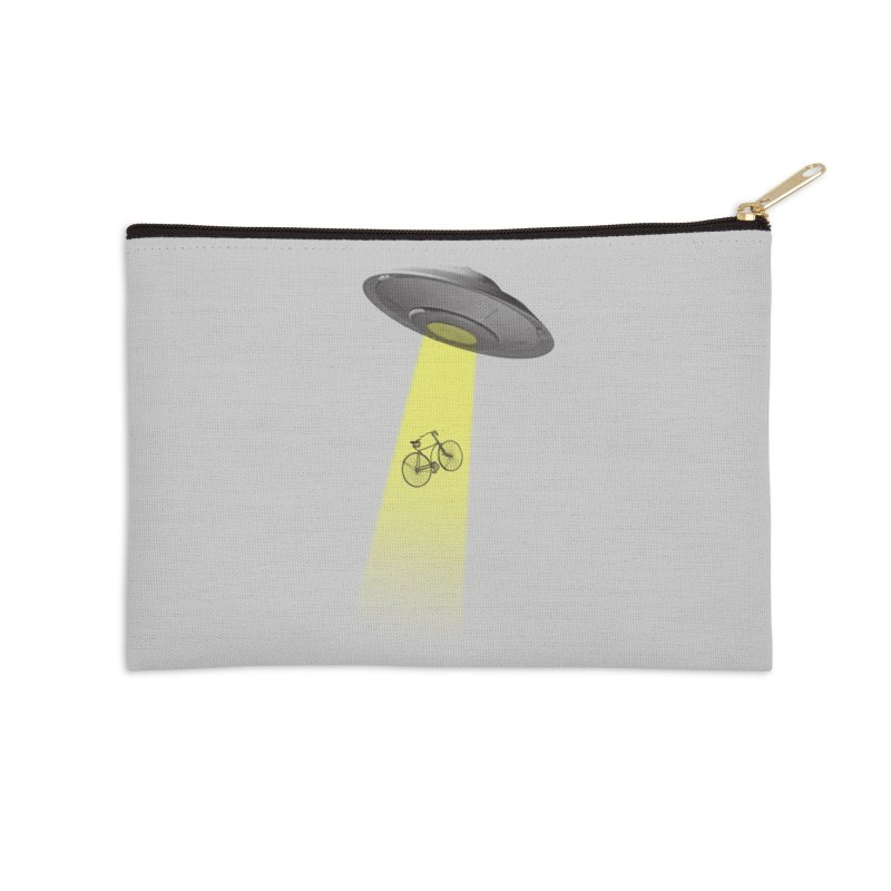 Ufo Accessories Zip Pouch by monoestudio's Artist Shop