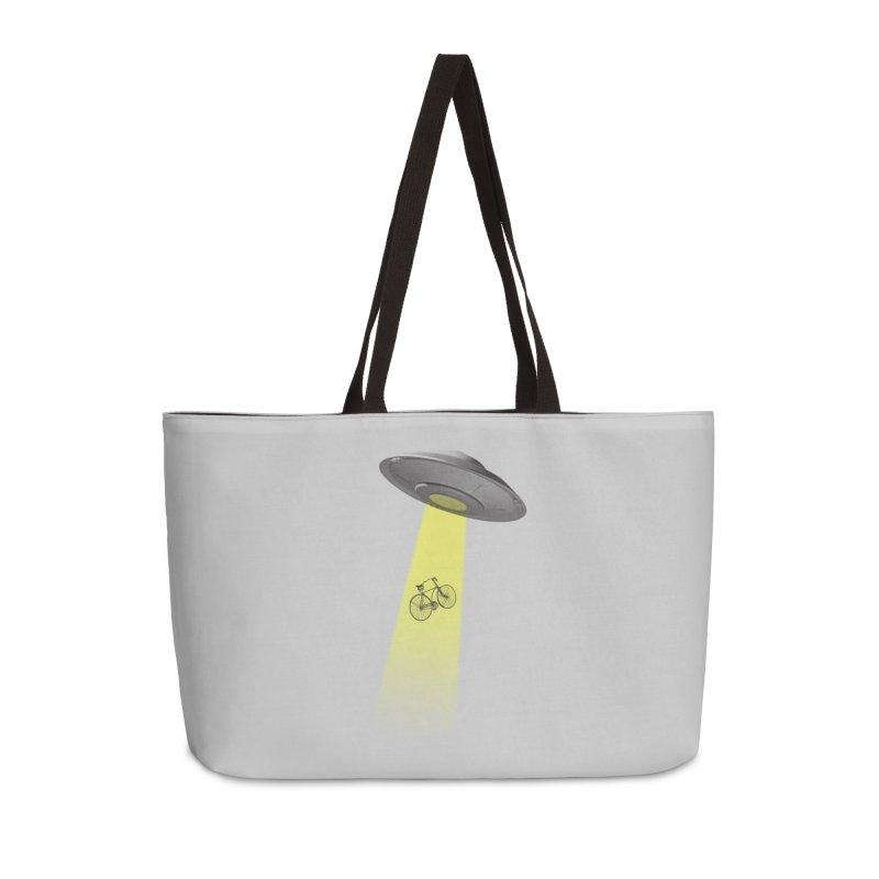 Ufo Accessories Weekender Bag Bag by monoestudio's Artist Shop