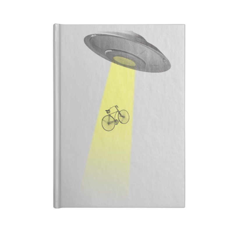 Ufo Accessories Lined Journal Notebook by monoestudio's Artist Shop