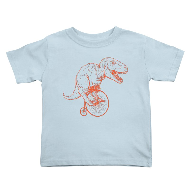 Dino Kids Toddler T-Shirt by monoestudio's Artist Shop
