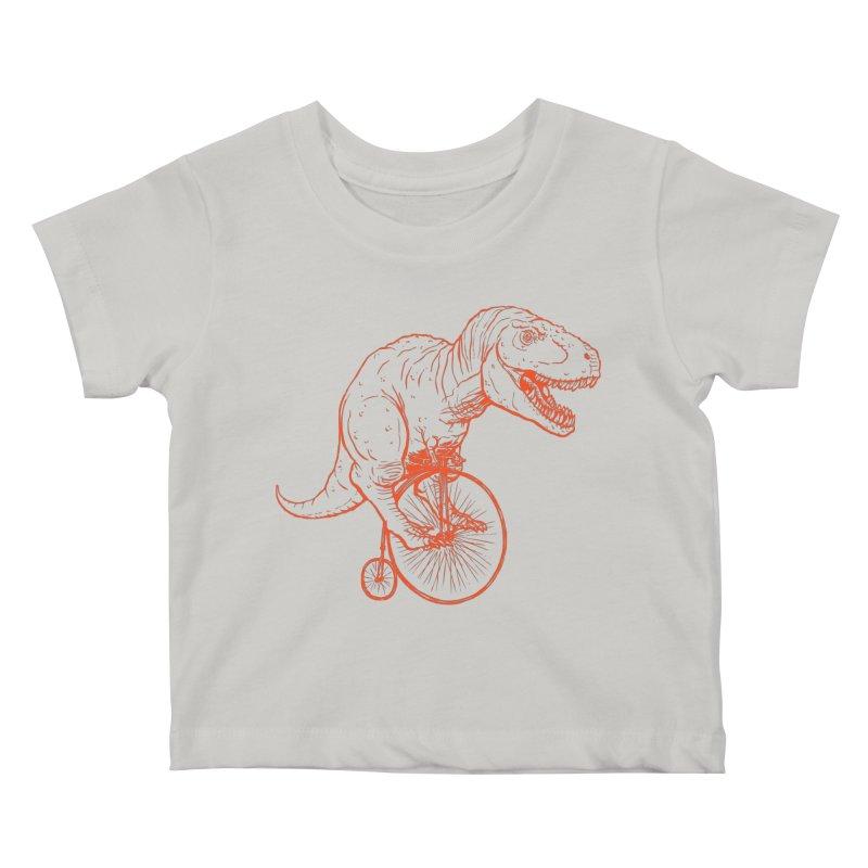 Dino Kids Baby T-Shirt by monoestudio's Artist Shop