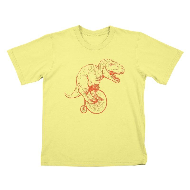 Dino Kids T-shirt by monoestudio's Artist Shop