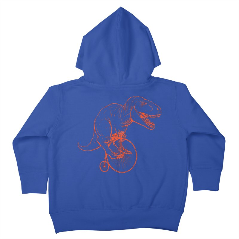 Dino Kids Toddler Zip-Up Hoody by monoestudio's Artist Shop