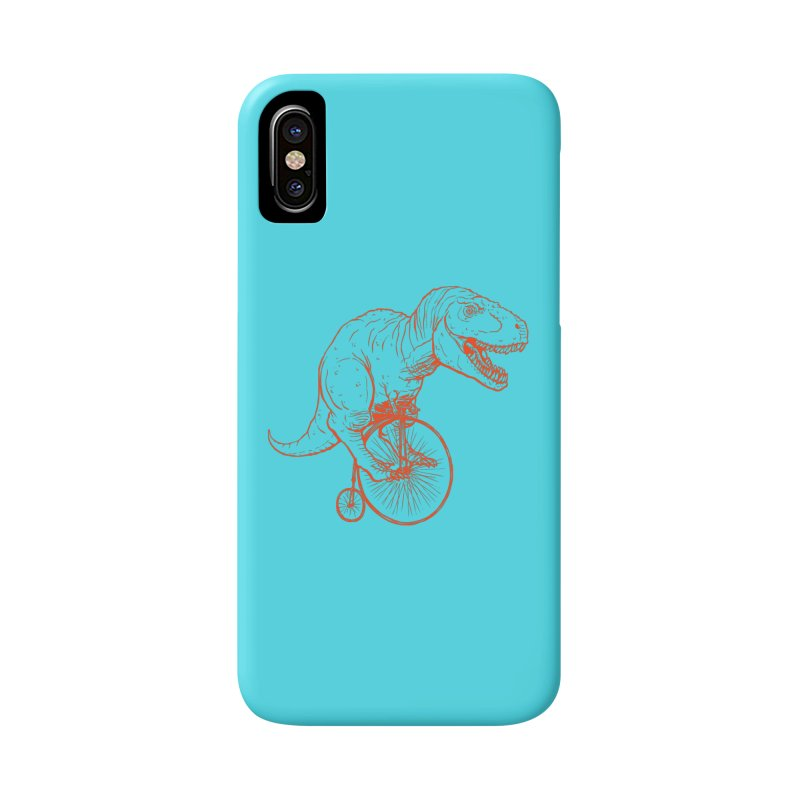 Dino in iPhone X / XS Phone Case Slim by monoestudio's Artist Shop