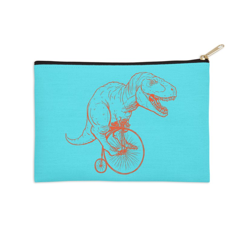 Dino Accessories Zip Pouch by monoestudio's Artist Shop