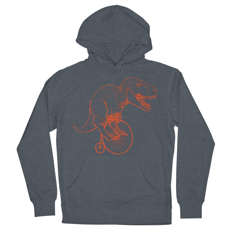 Dino Women's French Terry Pullover Hoody by monoestudio's Artist Shop