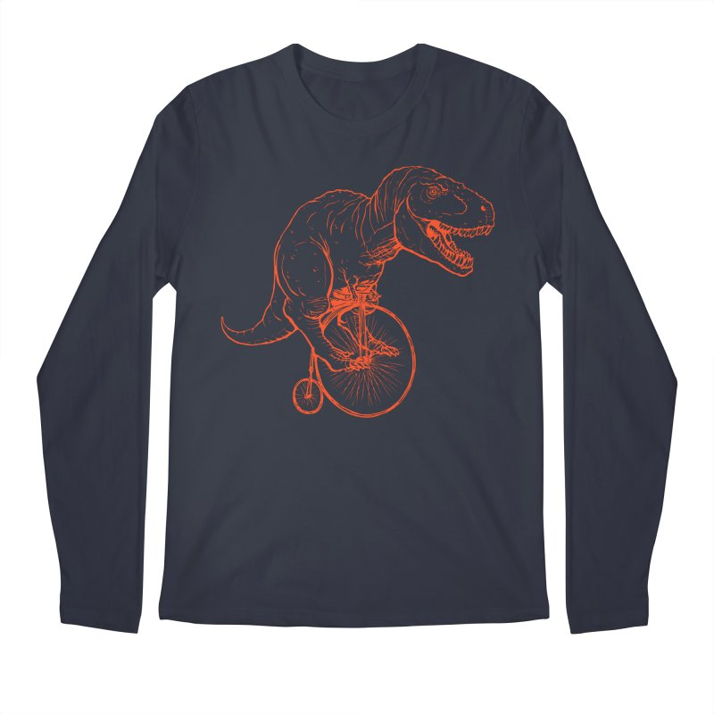 Dino Men's Regular Longsleeve T-Shirt by monoestudio's Artist Shop