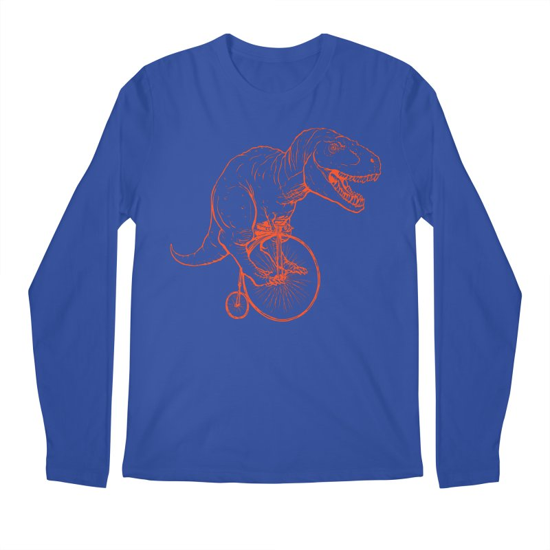 Dino Men's Regular Longsleeve T-Shirt by monoestudio's Artist Shop