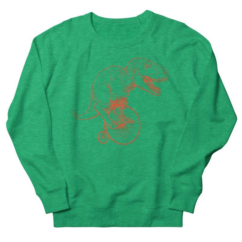 Dino Men's French Terry Sweatshirt by monoestudio's Artist Shop