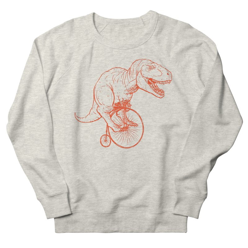 Dino Men's French Terry Sweatshirt by monoestudio's Artist Shop