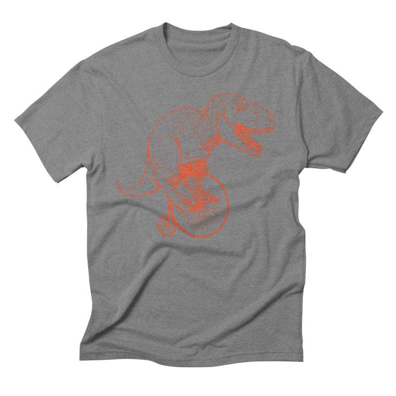 Dino Men's Triblend T-Shirt by monoestudio's Artist Shop