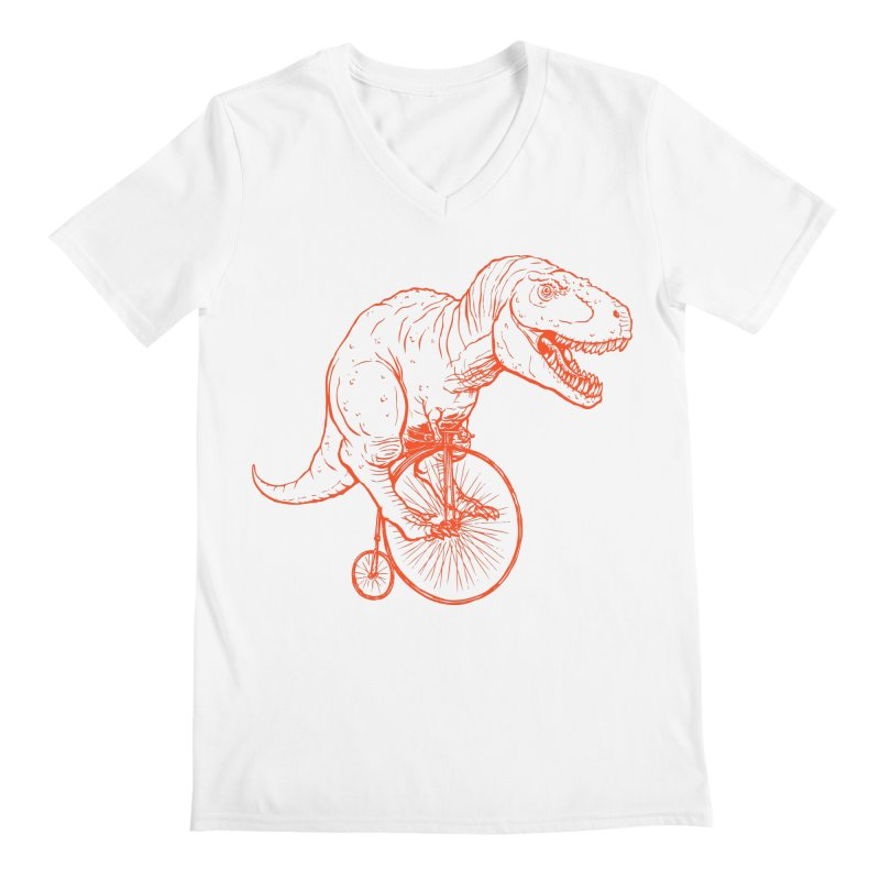 Dino Men's V-Neck by monoestudio's Artist Shop
